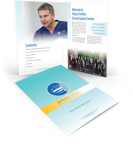 Free brochure illustration